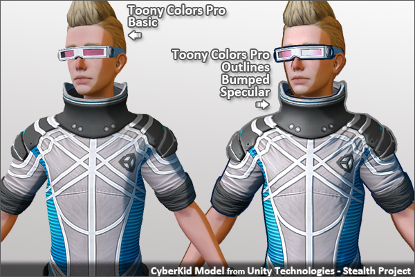 Unity how to add toon shader